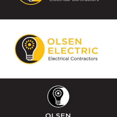 Olsen Electric Logo Design