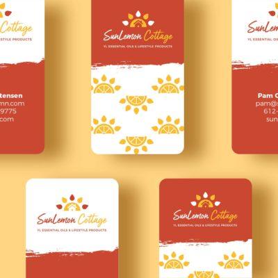 sunlemon-cottage-business-cards