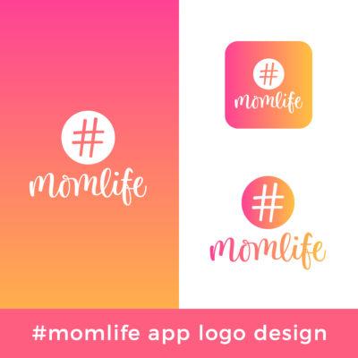 momlife-logo-design