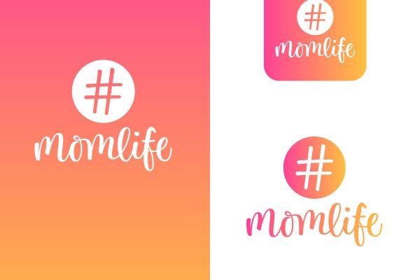 momlife-logo-design